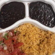 Hot Meal - Rice + Beans