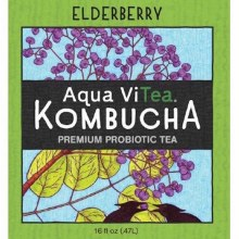 Elderberry Kombucha