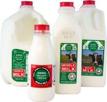 Milk, Hvf Whole - 1/2 Gallon