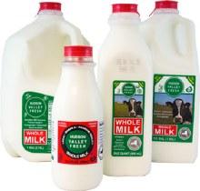 Milk, Hvf Whole - Quart