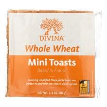 Mini Toasts - Whole Wheat