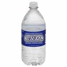 Water, Saratoga Spring 1 Liter