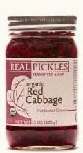 Sauerkraut, Organic Red -15 Oz