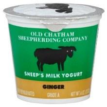 Sheep's Milk Yogurt Ginger 6oz