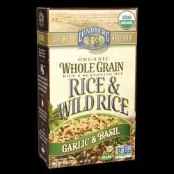 Garlic & Basil Wild Rice