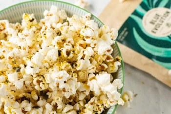 Spicy Citrus Seaweed Popcorn