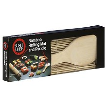 Bamboo Mat And Paddle