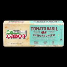 Tomato Basil Cabot Cheese