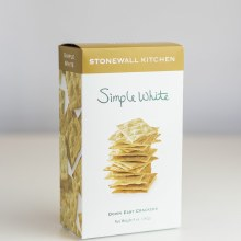 Simple White Crackers