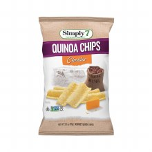 Cheddar Quinoa Chips