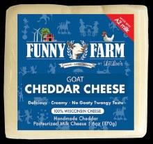 Cheddar Goat Cheese