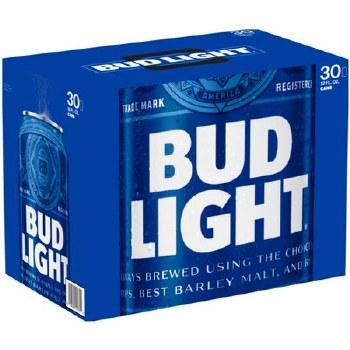 Bud Light 30pk Can