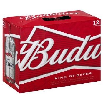 Budweiser 12pk Can