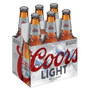 Coors Light 6pk