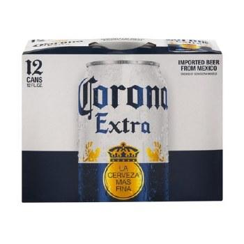 Corona Extra 12pk Can