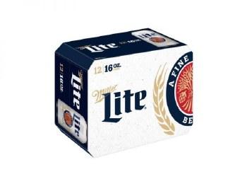 Miller Lite 12pk Can