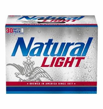Natural Lt 30pk Can