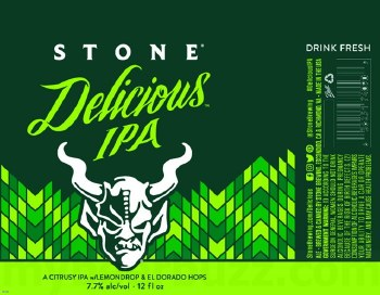 Stone Delicious Ipa Can