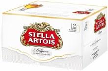 Stella Artois 12 Pk Can
