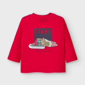 LONG SLEEVE CREW NECK START TEE