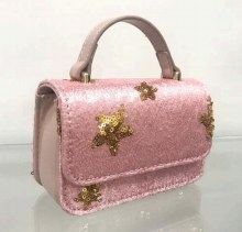 SEQUINNED STAR PURSE