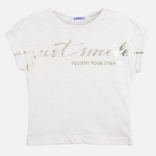 JUST SMILE TEE 8 WHITE