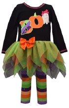 BOO 2 PC HALLOWEEN OUTFIT