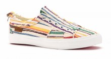 BABALU MULTI STRIPED SLIP ON