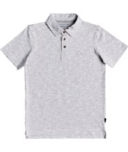 BUTTON UP POLO 8 GRAY