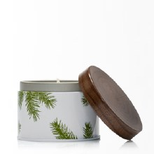 FRASIER FIR POURED CANDLE TIN
