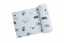 GREY HOUNDS SWADDLE BLANKED