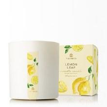 LEMON LEAF BOX CANDLE