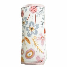 DUSTY FLORAL SWADDLE BLANKET