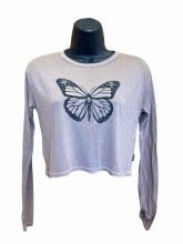 BUTTERFLY BOXY TEE