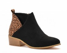 PORT BOOTIE WITH LEOPARD