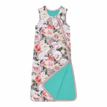 CASSIE SLEEVELESS RUFFLED SLEEP BAG 1