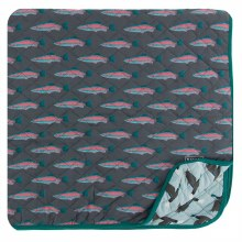 RAINBOW TROUT TODDLER BLANKET