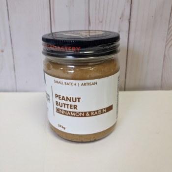 Cinnamon Raisin Peanut Butter, 375g