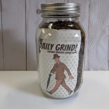 Fix Coffee Whole Beans, 1 L Jar - Daily Grind *packed in a re-usable jar, $1.00 deposit will apply
