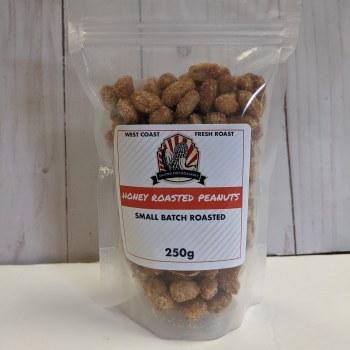 Honey Roasted Peanuts, 250g