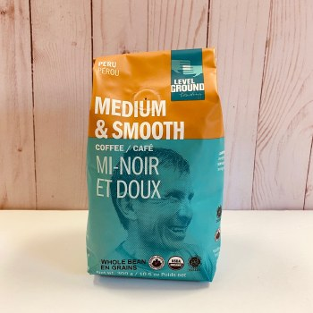 Level Ground Peru Medium Roast, Whole Bean, 300g