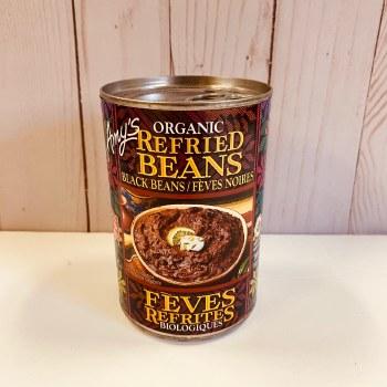 Amy's Refried Black Beans, 398mL