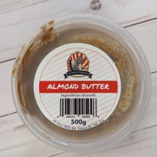 Island Nut Roastery Almond Butter, 500g
