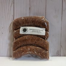 Four Quarters Beef Grilling Sausage, 4 pack, frozen
