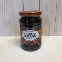 Mackay's Cherries & Berries Preserve, 250mL