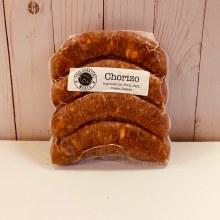 Four Quarters Chorizo Sausage, Mexican, 4 pack, frozen