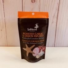 Saltwest Roasted Garlic & Onion Sea Salt, 40g