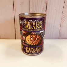 Amy's Refried Beans w/Chilies, 398mL