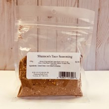Shannon's Taco Seasoning, 100g
