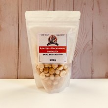 Roasted Macadamias, Unsalted, 200g